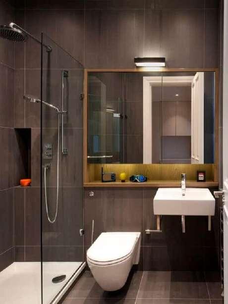 32. Modelos de banheiros modernos