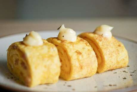 Rocambole de omelete