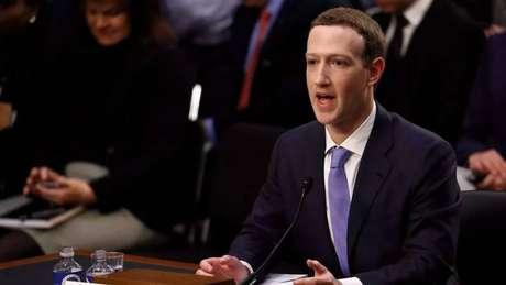Mark Zuckerberg - senado