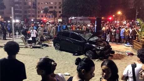 O caso de Gott veio à tona no começo deste ano depois de ele ter sido registrado como uma das 17 pessoas feridas em um atropelamento em massa por um carro desgovernado, na orla de Copacabana, em janeiro.