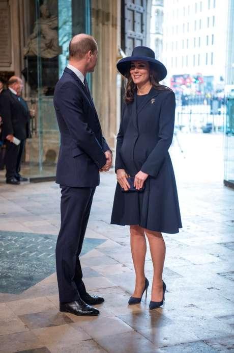 Príncipe William e Kate em Londres 12/3/2018 REUTERS/Paul Grover/Pool