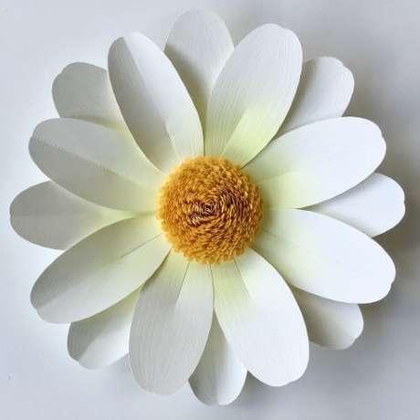 3. Agora você sabe como fazer flor de papel com camadas
