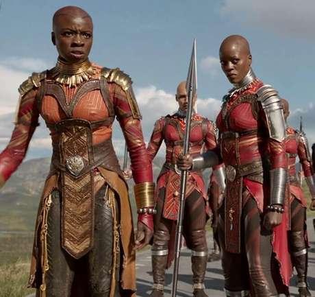Dora Milaje, o grupo das Forças Especiais de Wakanda