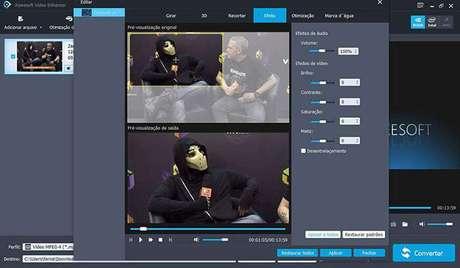 Em nossos testes com vídeos do Zangado, o app se saiu muito bem
