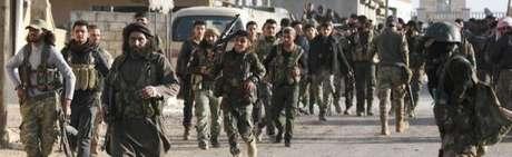 Soldados na Síria