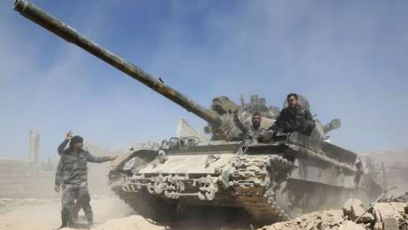 Governo sírio vem tentando retomar controle de área rebelde de Douma