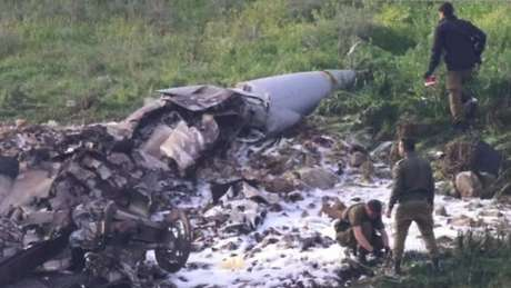 Avião de combate de Israel foi derrubado na Síria