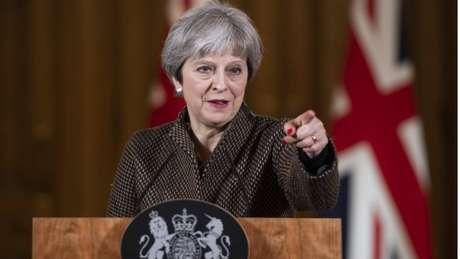 Theresa May argumentou pela proteção dos civis na Síria