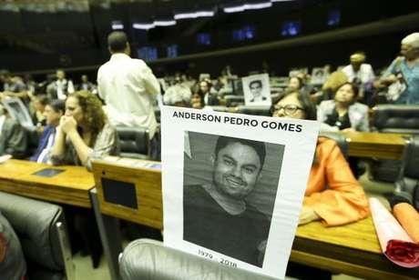 Câmara dos Deputados realizou sessão solene para homenagear a vereadora Marielle Franco e o motorista Anderson Gomes