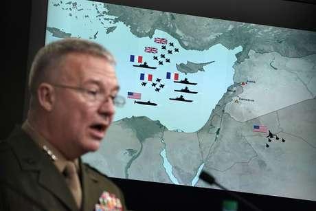 Pentágono diz que ataque à Síria foi