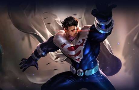 Visual alternativo do  Superman em 'Arena of Valor'