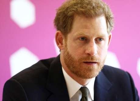 Príncipe Harry, do Reino Unido, durante fórum da Commonwealth em Londres 16/04/2018 REUTERS/Simon Dawson/Pool