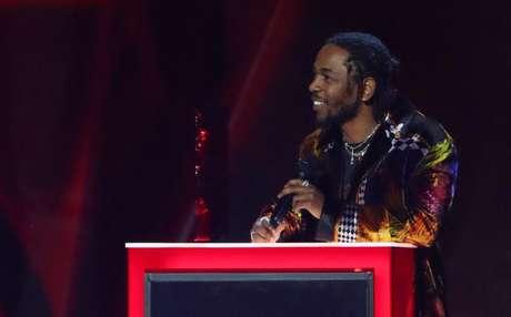 Kendrick Lamar durante Brit Awards em Londres  21/2/2018    REUTERS/Hannah McKay