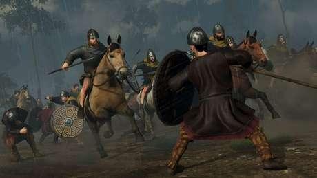 Total War Saga: Thrones of Britannia traz combate viking aos PCs (Imagem: Divulgação/SEGA)