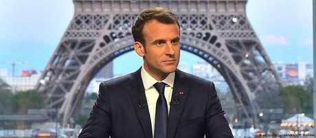 Na Síria e na mídia, presidente Macron quer mostrar quem manda na UE