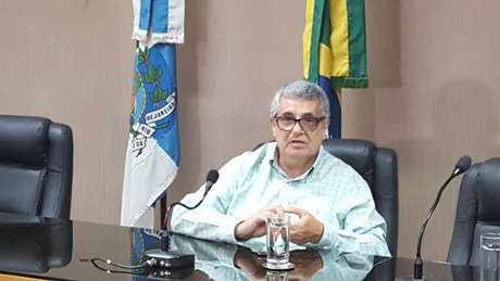 Rubens Lopes é o atual presidente da Ferj (Foto: Vinícius Faustini)