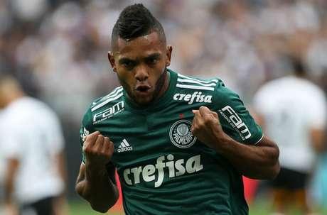 Borja é o artilheiro do Palmeiras na temporada, com nove gols (Foto: Cesar Greco/Palmeiras)