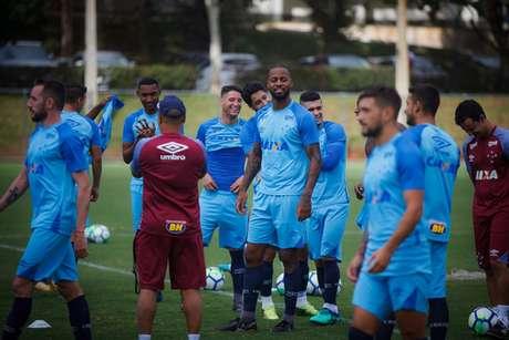 Cruzeiro se prepara para Libertadores (Foto: Divulgação)