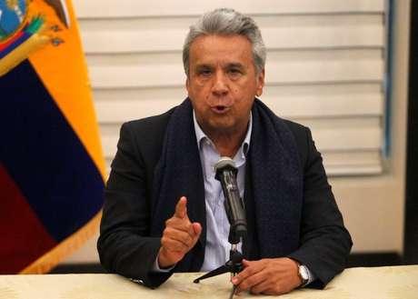 Presidente do Equador, Lenin Moreno 12/04/2018 REUTERS/Daniel Tapia