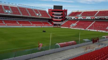 Estádio Libertadores de América receberá duelo na quarta. Veja as fotos na galeria!