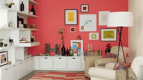 Utilize cores quentes na decoração da casa no inverno