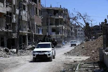 Duma, na Síria, foi retomada pelo governo recentemente