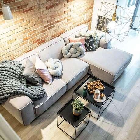Diferentes texturas podem trazer modernidade e sensação de aconchego para casa durante o inverno