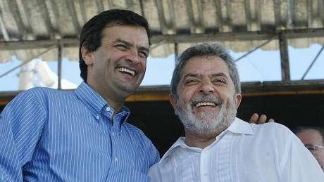 Aécio e Lula mantiveram um bom relacionamento durante seus governos