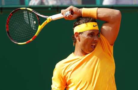 Nadal no Masters de Monte Carlo  18/4/2018    REUTERS/Eric Gaillard