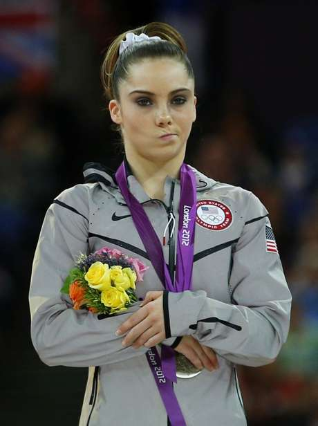 McKayla Maroney ganha prata no salto nos Jogos Londres 2012  5/8/2012    REUTERS/Brian Snyder