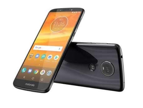 Corpo em vidro e bateria são destaques do Moto E5 Plus (Imagem: Divulgação/Motorola)