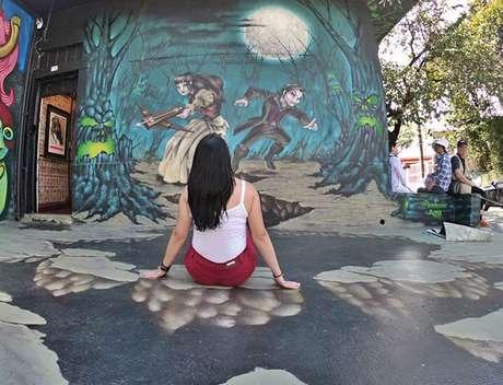 Dá pra fazer um grafite... Interativo? Dá sim, amigo, e é do 'Hearthstone'!