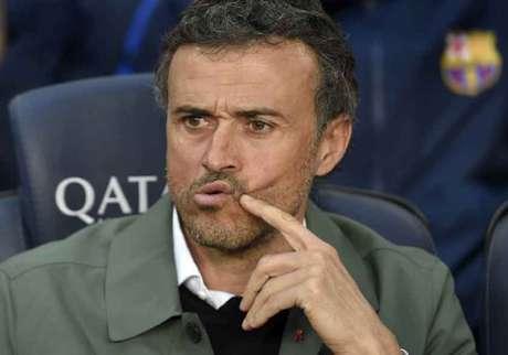 Luis Enrique é cotado como favorito para assumir o Arsenal, segundo o 'The Sun' (Foto: Lluis Gene / AFP)