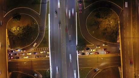 Imagem aérea do Plano Piloto, Brasília, DF