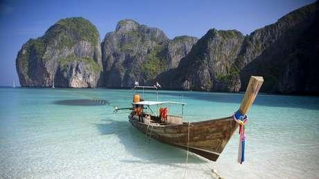 Paraíso tailandês ficou conhecido mundialmente após aparecer em filme com Leonardo DiCaprio