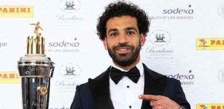Salah foi eleito o melhor jogador da Premier League (Foto: Divulgação)