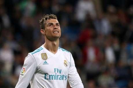Cristiano Ronaldo em jogo do Real Madrid contra o Athletic Bilbao  18/4/2018               REUTERS/Susana Vera