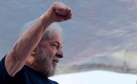 Ex-presidente Luiz Inácio Lula da Silva  07/04/2018 REUTERS/Leonardo Benassatto