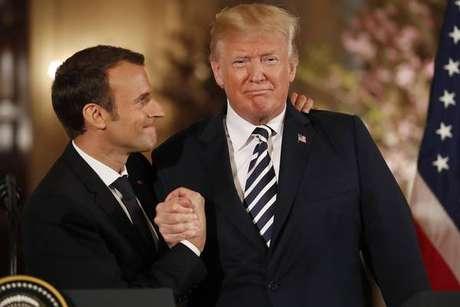 Macron cede a Trump e fala em novo acordo com Irã