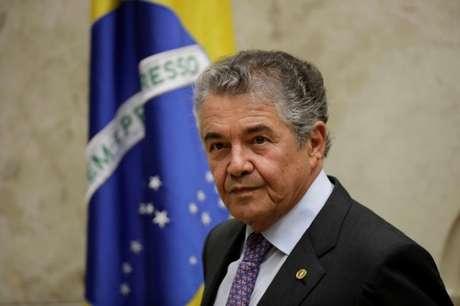 Ministro Marco Aurélio Mello durante sessão do STF 22/03/2018 REUTERS/Ueslei Marcelino