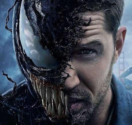 Tom Hardy como Venom: agora só falta o Homem-Aranha!