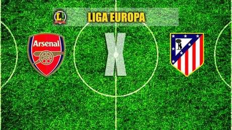 Arsenal e Atlético de Madrid se enfrentam no Emirates, em Londres