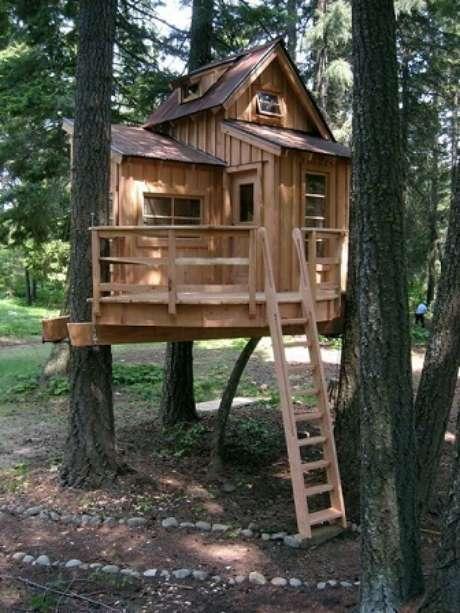 22- Casa na árvore baixa