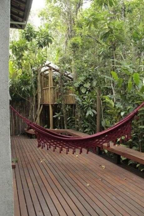 26. Casa na árvore na varanda. Projeto de Studio ArquitetUras