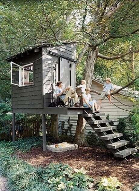 """2. Esse tipo de construção pode também servir como um """"puxadinho"""" da casa principal"""
