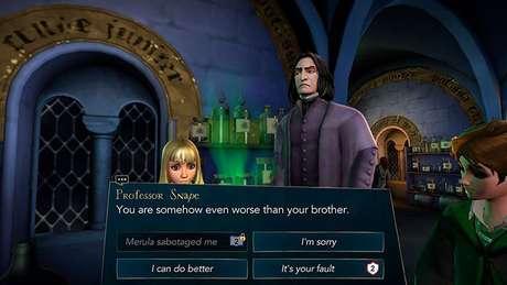 Não pode ter preguiça de ler: o jogo tem muitos diálogos
