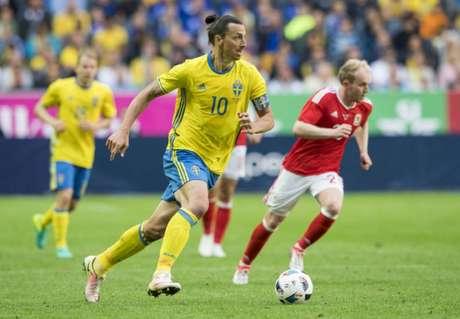 Ibrahimovic aposentou-se da seleção sueca após a Eurocopa de 2016 (Foto: Jonathan Nackstrand / AFP)