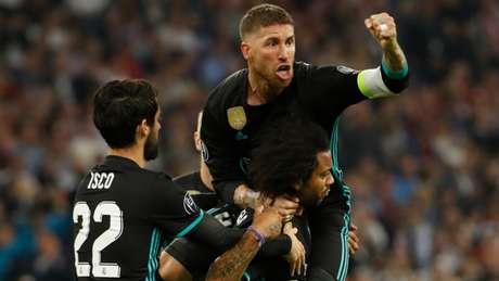 Sergio Ramos não poupou elogios a Andrés Iniesta (Foto: AFP)