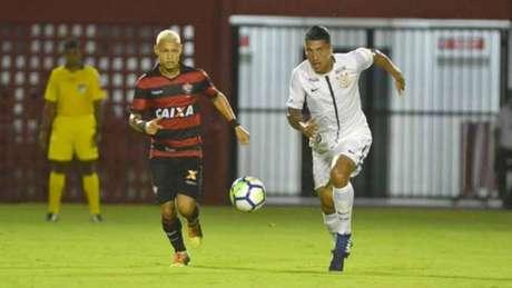 Vitória e Corinthians fizeram um jogo muito equilibrado