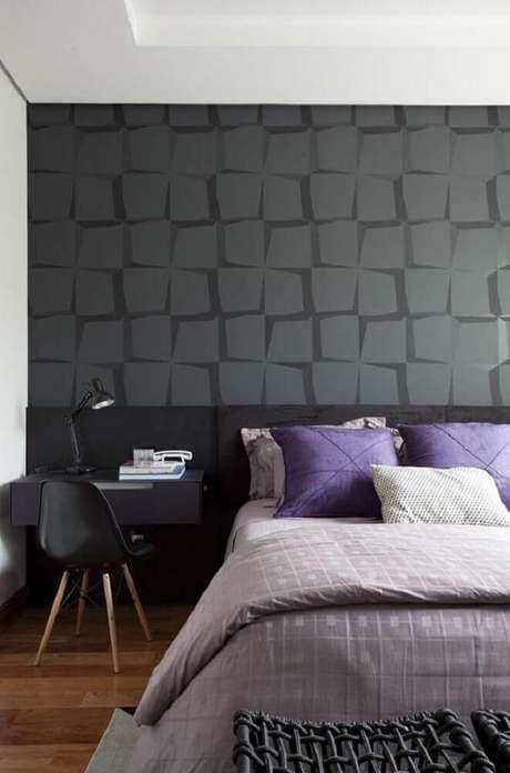 55 modelos de papel de parede para quarto de casal - Papel de pared moderno ...